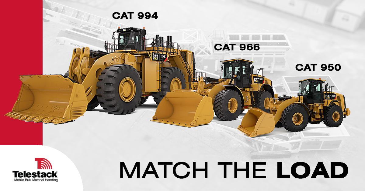Match your Load- Up to Cat 944