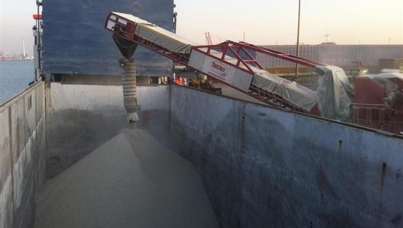 Shiploading Direct From Trucks Truck Unloader