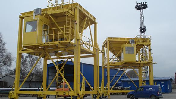 Ship Unloaders Telestack Ltd